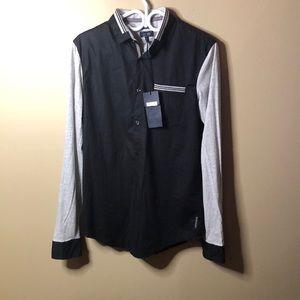 Armani Jeans jersey dress shirt